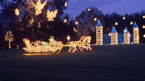 first magic christmas in lights bellingrath gardens home