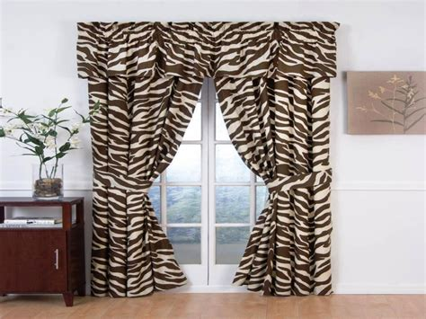 Animal Print Curtains Pictures