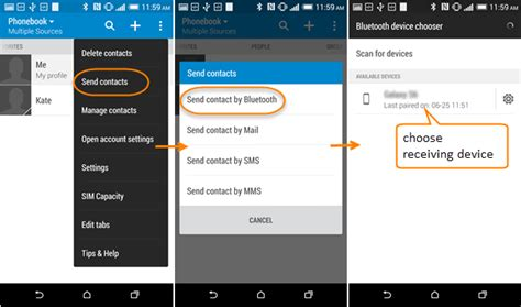 how to transfer notes from one iphone to another how to transfer contacts from htc to galaxy note 5 s7 s8