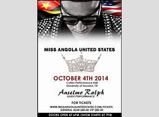 Ms Angola USA Beauty Pageant to be Anselmo Ralph's First
