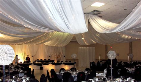 How To Hang Ceiling Drapes For Events - ceiling draping kits