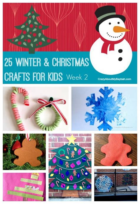 25 Winter And Christmas Crafts For Kids  Week 2