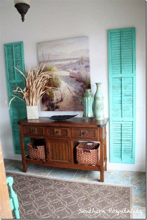 louvered door ideas  pinterest shutter decor