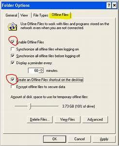 windows xp offline files for my documents i net With my documents offline