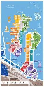 Duschvorhang San Francisco : pier 39 map a detail map of pier 39 san francisco ~ Michelbontemps.com Haus und Dekorationen