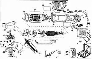 Dewalt 4 1  2 U0026quot  Grinder Parts