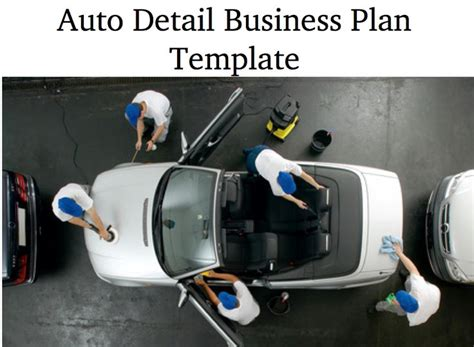 car wash business plan template physical location car
