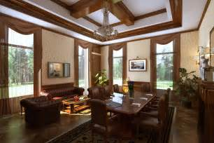 Home Interiors In Lovely Home Interior In Classic Style Decobizz