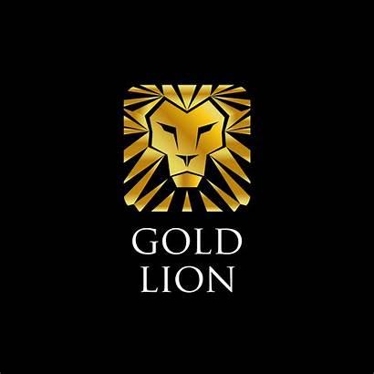 Lion Golden Vector Gold Vectors Clipart Newest
