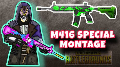 An improvement of the m16 and the m4 carbine, m416 is used in the us. You Get What You Focus On | PUBG MOBILE Montage Ft. M416 ...
