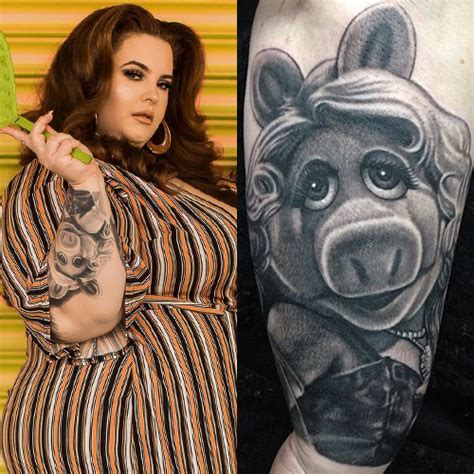 tess holliday character forearm tattoo steal  style