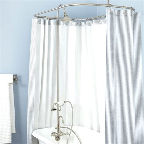 alternative to shower curtain image of alternative for standard shower rod ikea