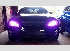 Holden VE Halo Angel Eyes RGB LED Custom Headlights YouTube
