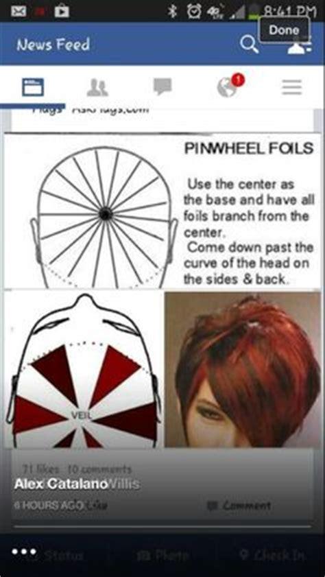 foiling techniques images hair foils colors