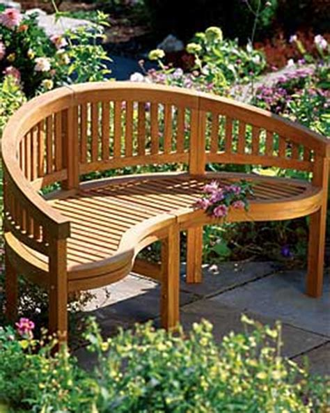 build wooden curved outdoor bench plans plans