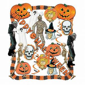 Halloween Decorating Kit - 25 Pcs  Pack Of 1