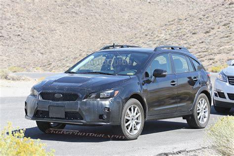 2018 Subaru Crosstrek Xv Turbo Release Date Spy Photo