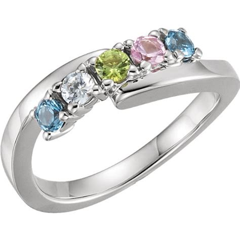 5 Stone Bypass Mothers Ring 3mm Birthstones. Engagement Designer Engagement Rings. Taffin Rings. Naira Rings. Halloween Engagement Rings. Rare Stone Wedding Rings. Prince Harry's Engagement Rings. Bat Rings. Iron Wedding Rings