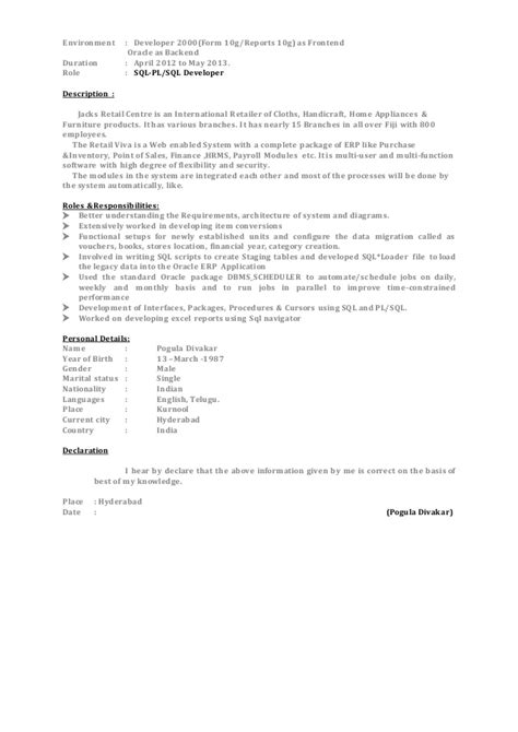 tableau developer resume doc tableau developer sle resumes ebook database
