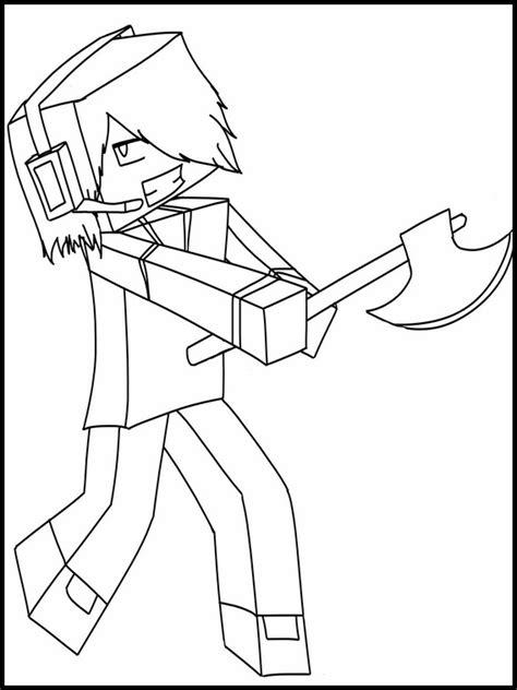 sta e colora minecraft disegni da colorare minecraft 11