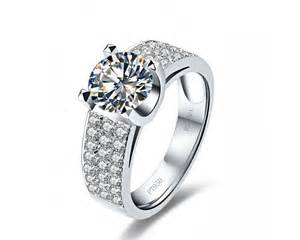 simulated engagement rings silver 2 carat sona simulated wedding rings for 18k gold plated mens engagement