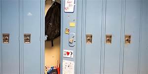 School Lockers Middle School Worries Locker Anxiety Huffpost