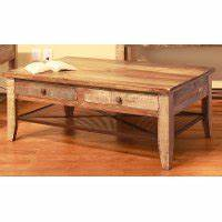 pine two tone wood coffee table antique rc willey With two tone wood coffee table