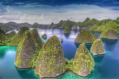 Indonesia Islands Count Country Raja Ampat Wayag