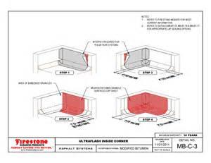 Firestone Modified Bitumen Roofing Details