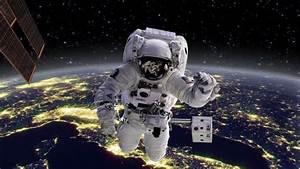 An Astronaut Stationed At The International Space Station ...