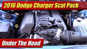 Under The Hood  2016 Dodge Charger R  T Scat Pack