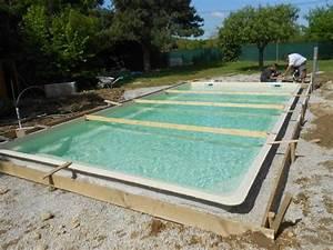ceinture beton piscine With beton autour d une piscine