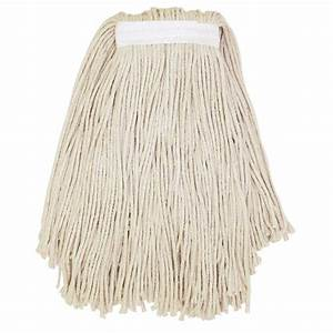 Genuine Joe Clamp-Style Cotton Mop Head-GJON20COTEA - The ...