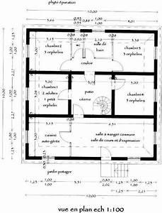 pre projet de reconstruction des maisons detuites lors du With plan maison r 1 100m2 5 plan de maison r 1 au senegal