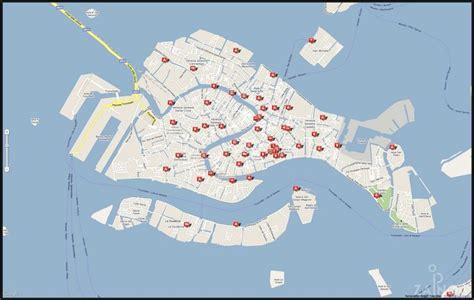 orientierung karte stadtplan von venedig