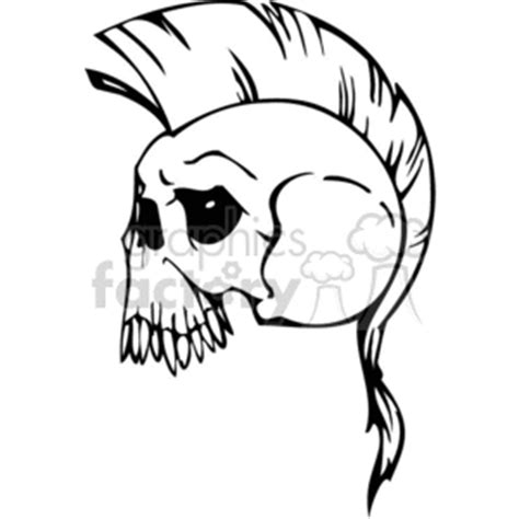 clip art skulls   related vector clipart images