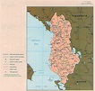Large political and administrative map of Albania with ...