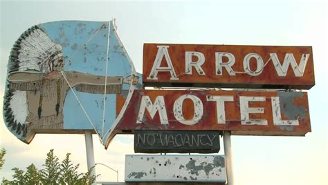 Cowgill S Route 66 Sign Near Truxton Historic Route 66 Route 66 Sign Stock Footage