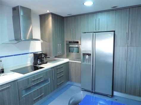 cocina  frigorifico americano cocinas alcala de henares