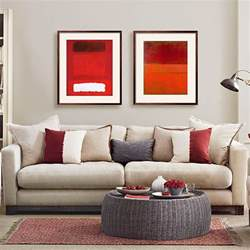 mushroom grey and red living room living room decorating ideal home