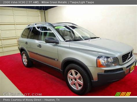 willow green metallic  volvo xc  awd taupe