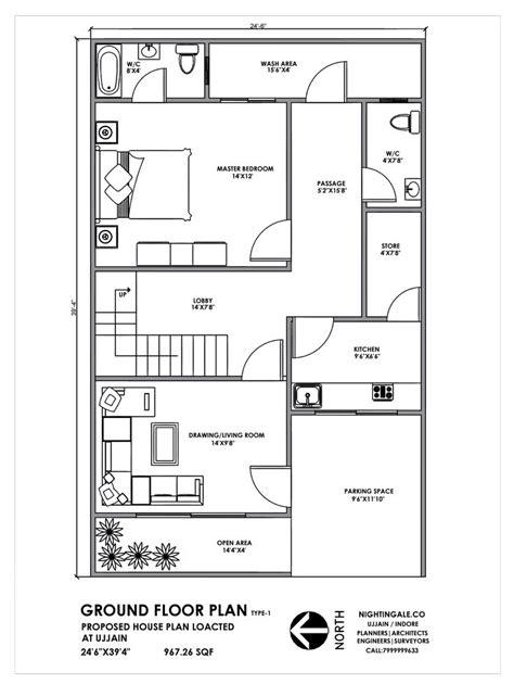 house plan  feet indian plan ground floor  details