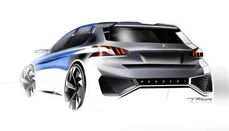 peugeot   hybrid concept design sketch  thomas rohm car body design car design