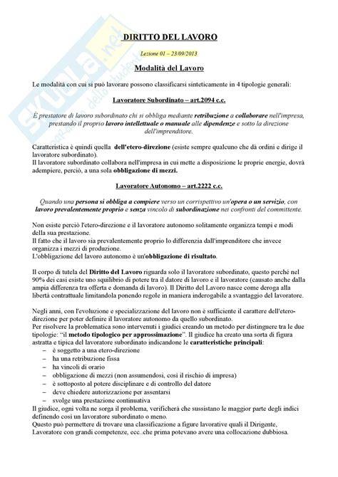 Dispensa Diritto Lavoro by Definizioni Di Diritto Lavoro