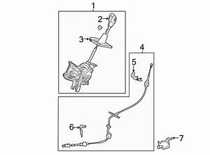 2014 Ford Escape Automatic Transmission Shifter Cable