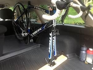 Interior Bike Rack - Subaru Outback