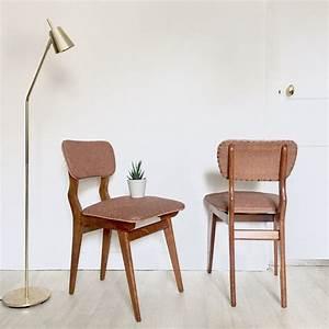 Chaise Scandinave Verte : chaises vintage luckyfind ~ Teatrodelosmanantiales.com Idées de Décoration