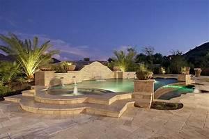 Decoration De Piscine : am nagement piscine 100 piscines de design contemporain ~ Zukunftsfamilie.com Idées de Décoration