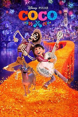 Coco Disney Pixar Movie Cover