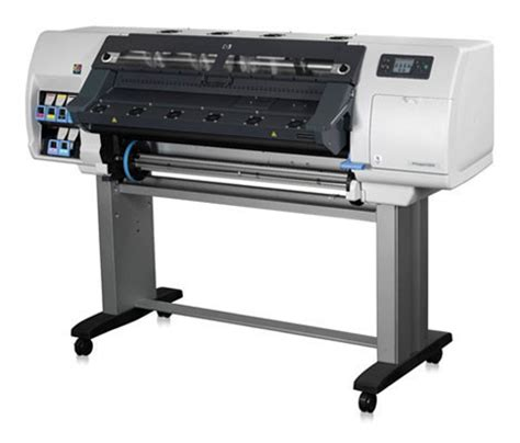 hp designjet  wide format latex printer plot